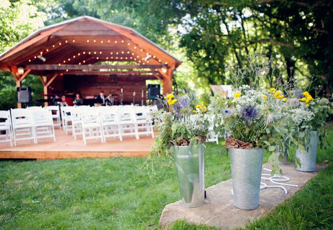 Ways To Make Your Outdoor Wedding Intimate Img Cl