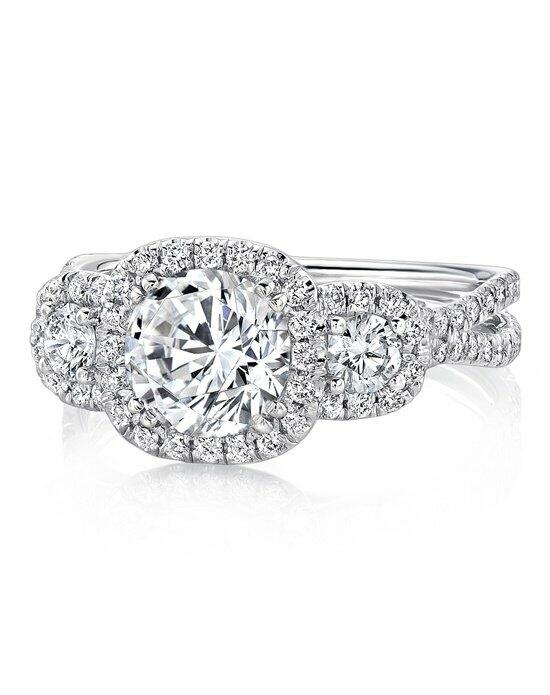 Uneek Fine Jewelry LVS921-8.0RD Engagement Ring photo