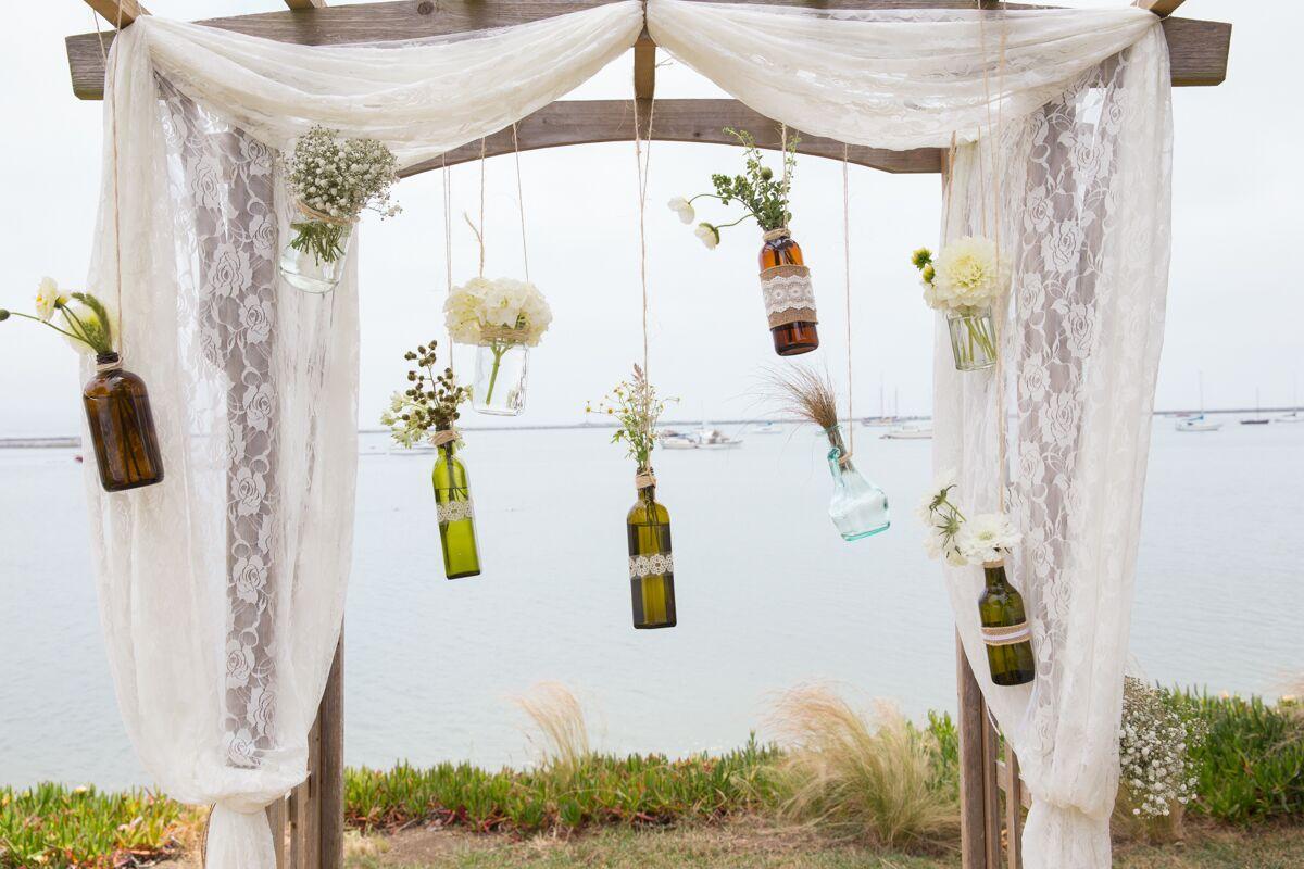 Shabby Chic DIY Wedding Arch