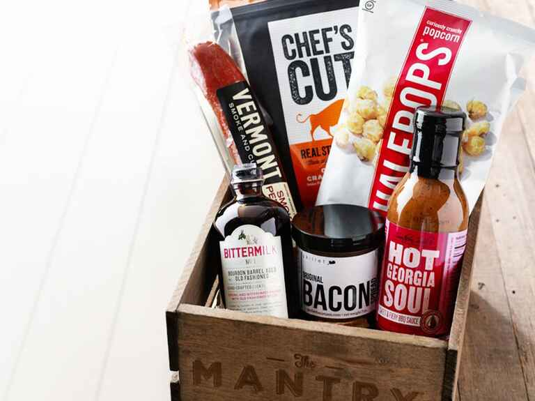 Mantry food box gift subscription