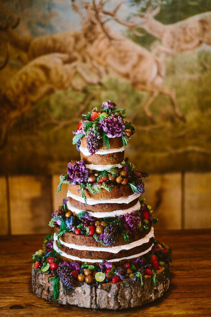 Rustic Wood Cake Stand   Pastel de madera, Gradas de la