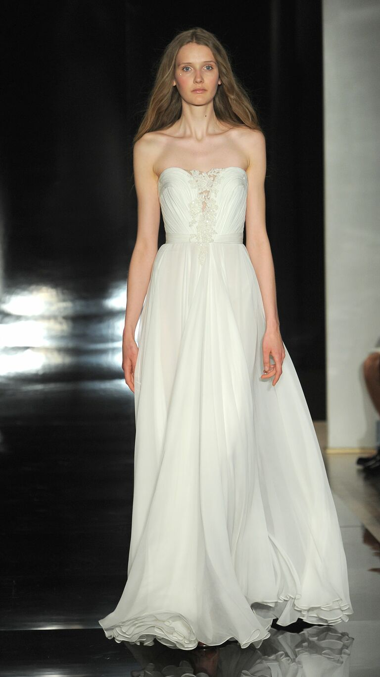 Beach wedding dresses a complete guide reem acra wedding dress ombrellifo Image collections