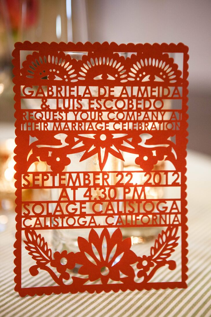 Papel Picado Invitations