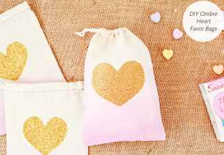 DIY wedding projects with hearts: Oh So Beautiful Paper / TheKnot.com