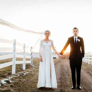 Ohio farm wedding