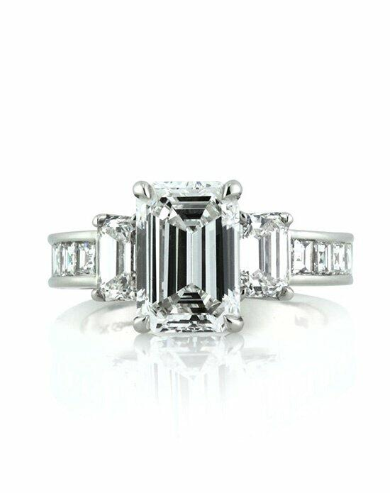 Mark Broumand 4.42ct Emerald Cut Diamond Engagement Ring Engagement Ring photo