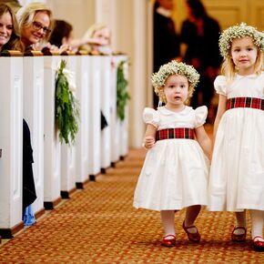 Flower girl dresses plaid ribbon tied flower girl dresses mightylinksfo