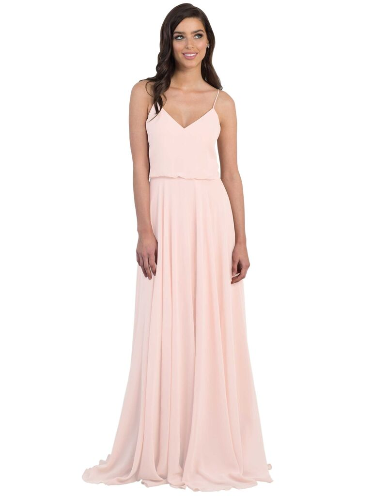 Pink bridesmaid dresses blush bridesmaid dresses to shop now jenny yoo inesse bridesmaid dress in petal pink ombrellifo Images