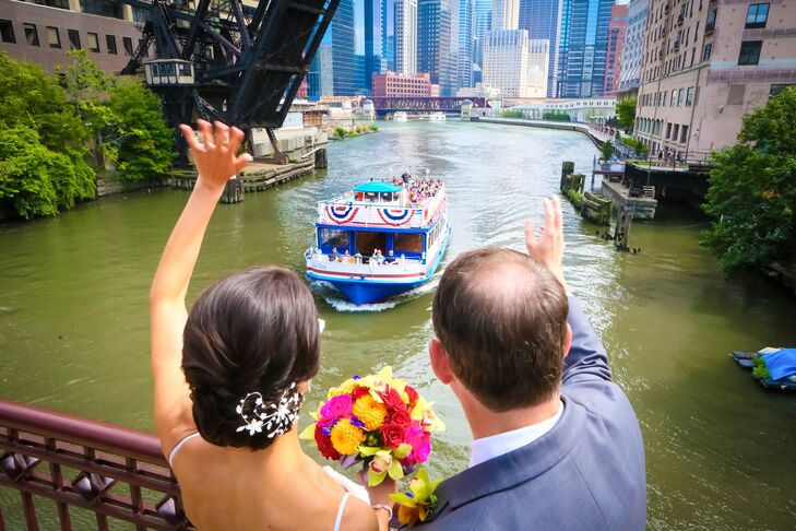 Rehearsal Dinner on Private Chicago Boat Cruise