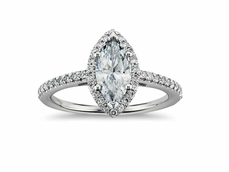 blue nile vintage inspired engagement ring - Vintage Inspired Wedding Rings