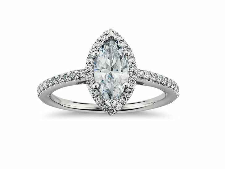 Blue Nile Vintage Inspired Engagement Ring
