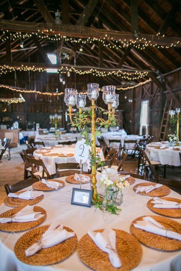 Rustic Wedding Candelabra