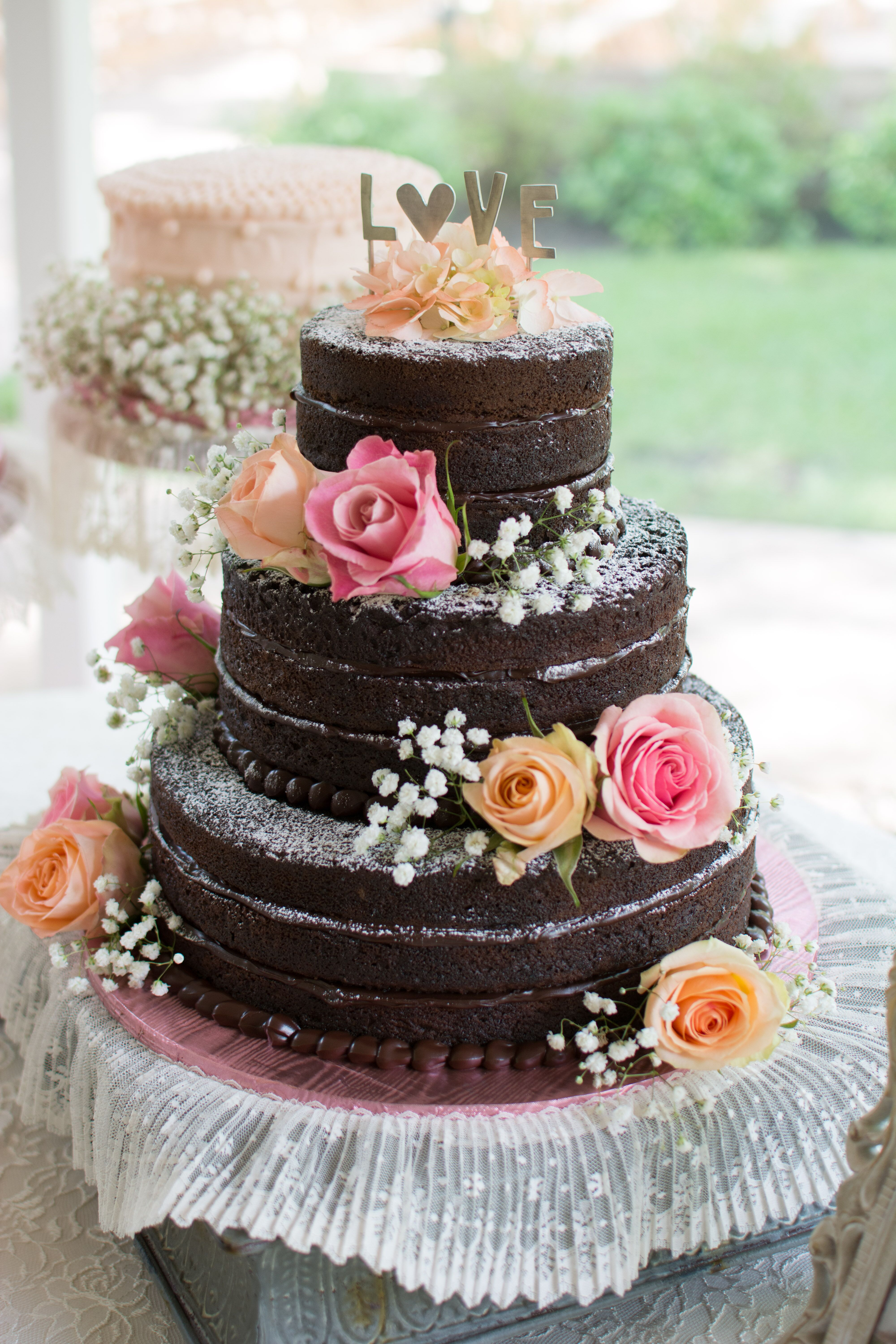 Wedding trend: naked cake | Crafted for you.™