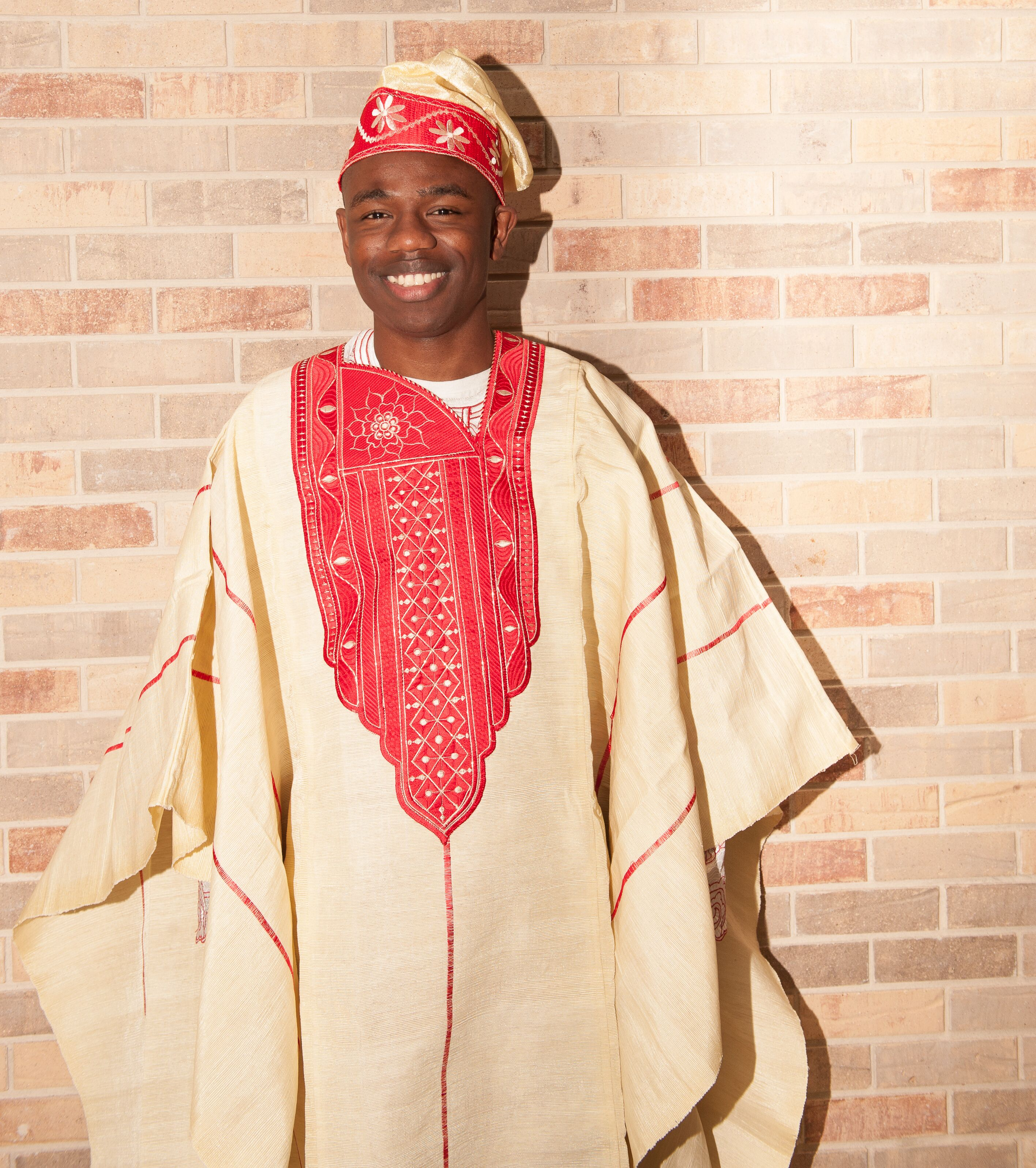 Traditional Wedding Gift From Groom To Bride: Traditional Nigerian Red Groom's Wedding Attire