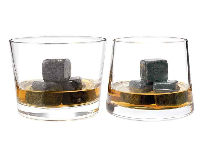 Uncommon Goods​ Whiskey stone chillers groosmen gift