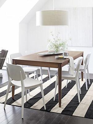 A Preppy Dining Room