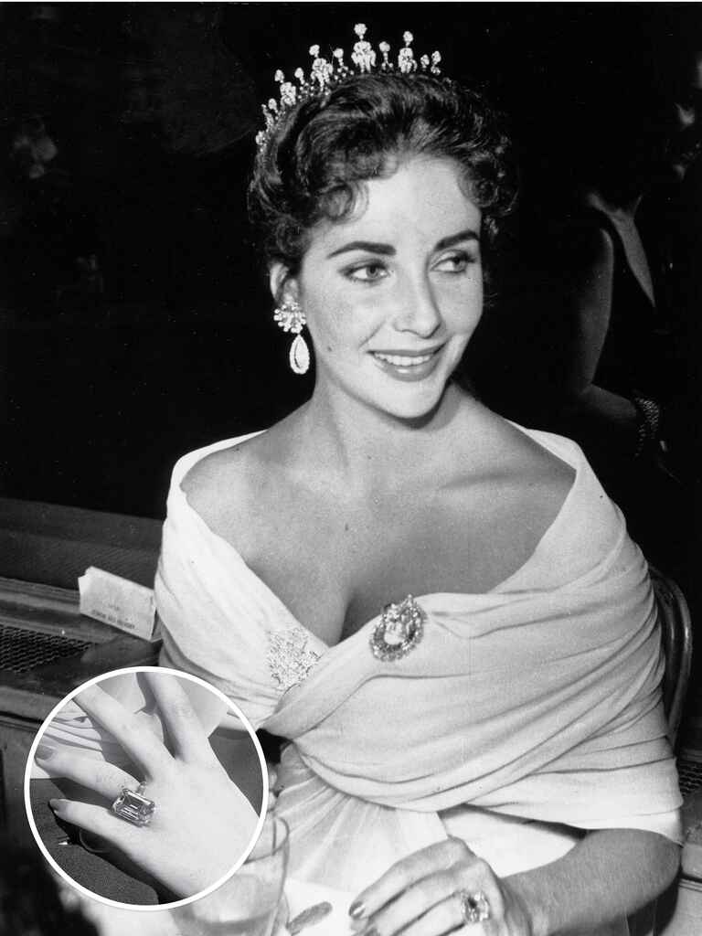 Elizabeth Taylor's engagement ring from Mike Todd