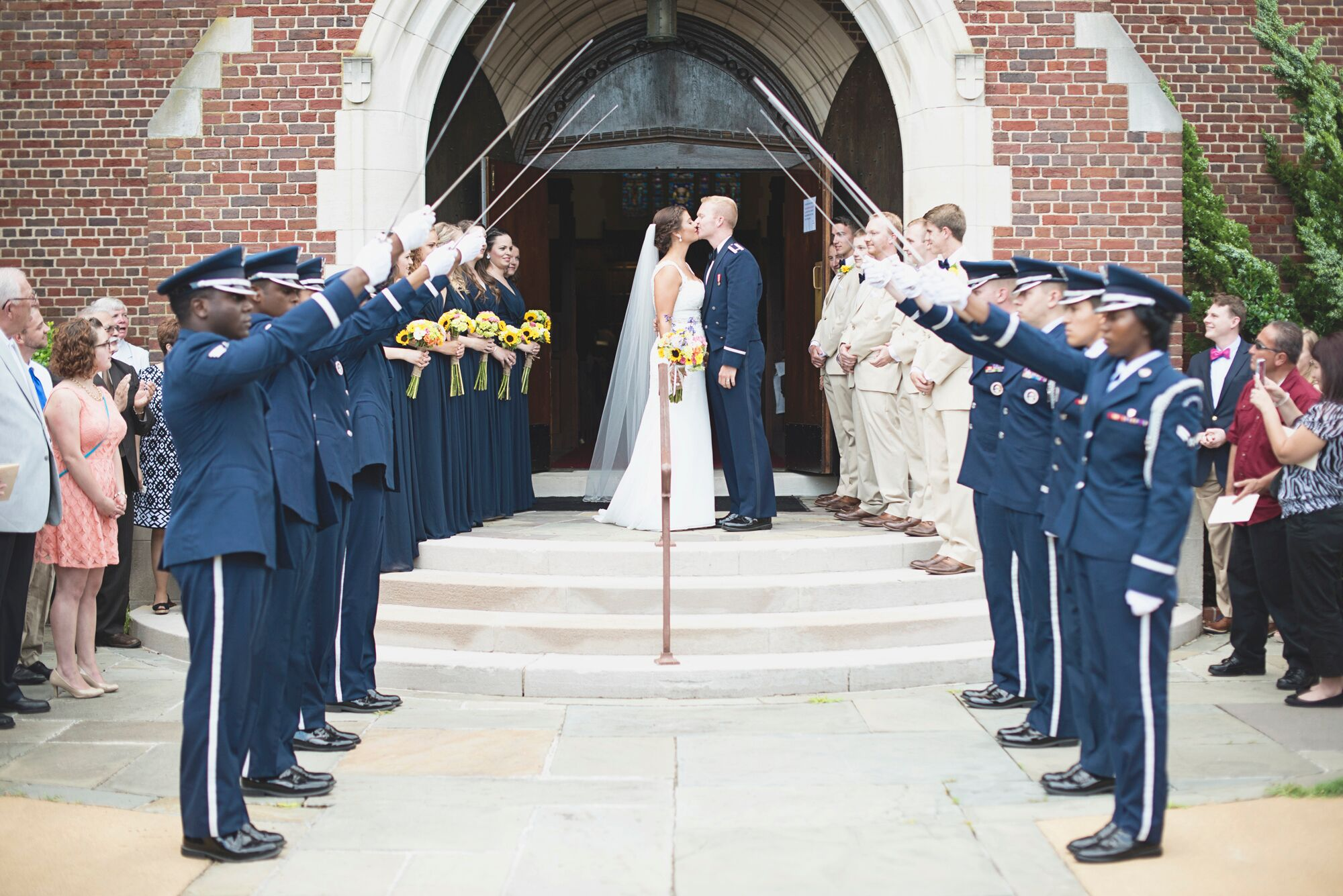 Wedding Gifts For Military Couples: Air Force Saber Arch Recessional