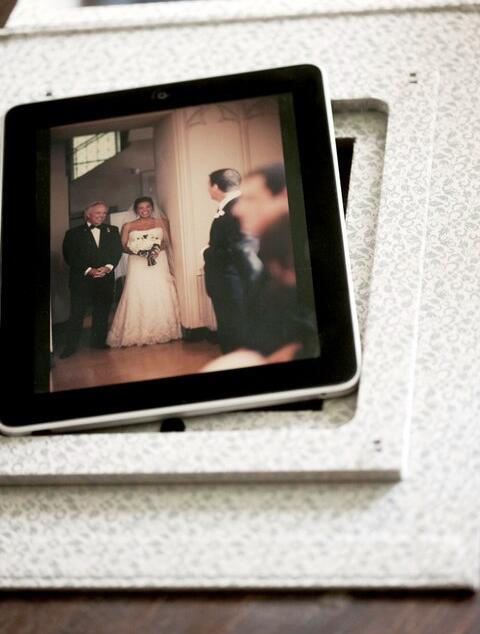 iPad custom wedding video album gift