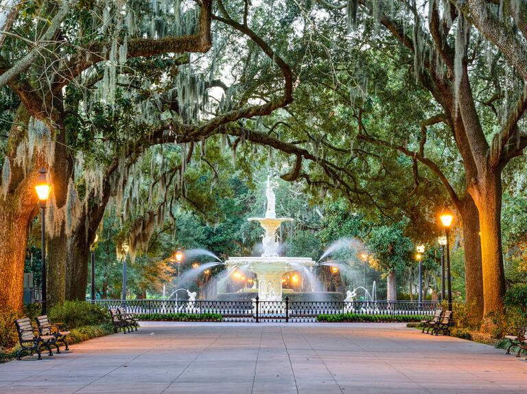 Romantic honeymoon Savannah, Georgia