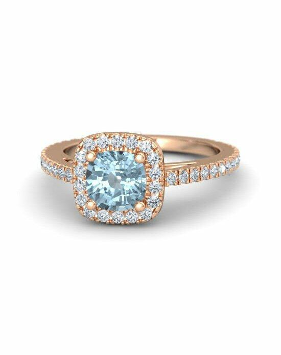 Gemvara - Customized Engagement Rings Olivia Ring (6MM GEM) Engagement Ring photo