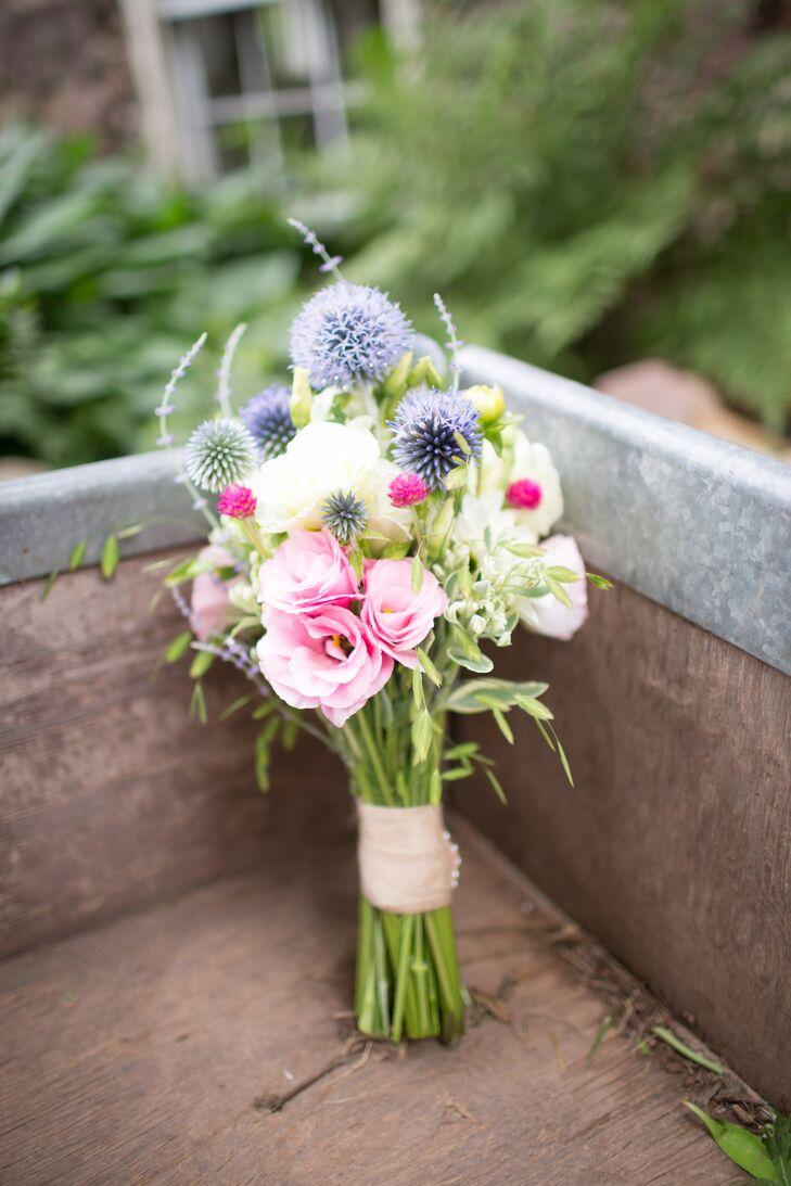 Diy Fresh Picked Bridal Bouquet
