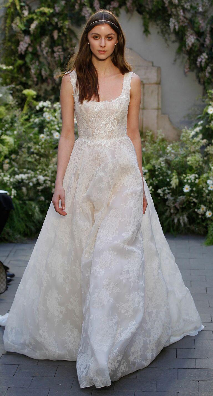 Monique Lhuillier Spring Collection Bridal Fashion Week Photos