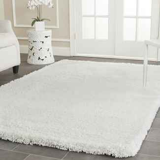 White Shag Rug registry idea