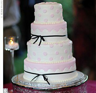 pink white and black wedding cakes pink and black wedding cake 18598