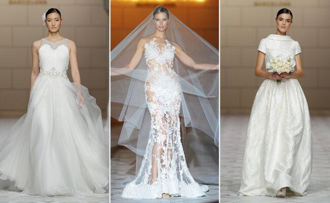 Pronovias Spring 2015 Bridal Fashion Show