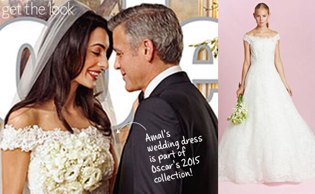 You Can Buy Amal Alamuddin S Oscar De La Renta Wedding Dress