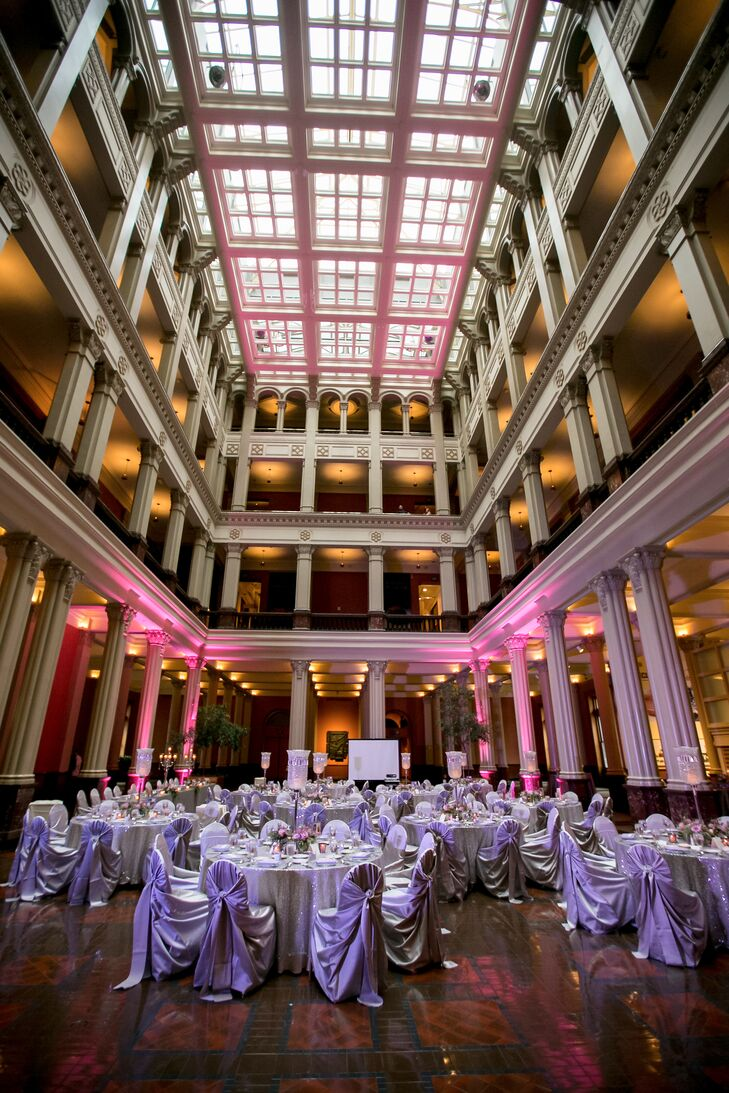 The Bride And Groom Were Drawn To Clic Style Of Minnesota Landmark Center