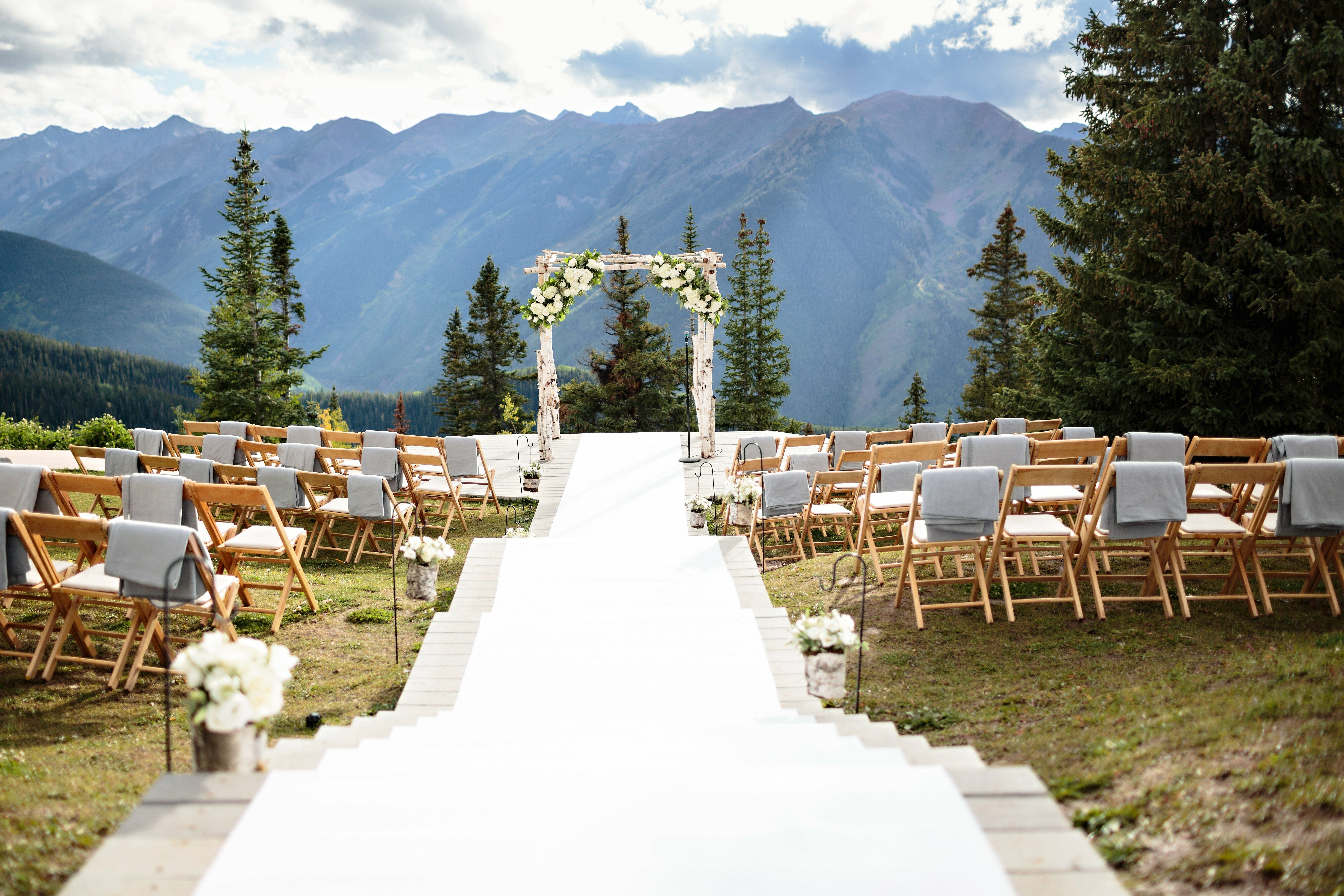 Mountain Wedding Venues: Mountaintop Ceremony
