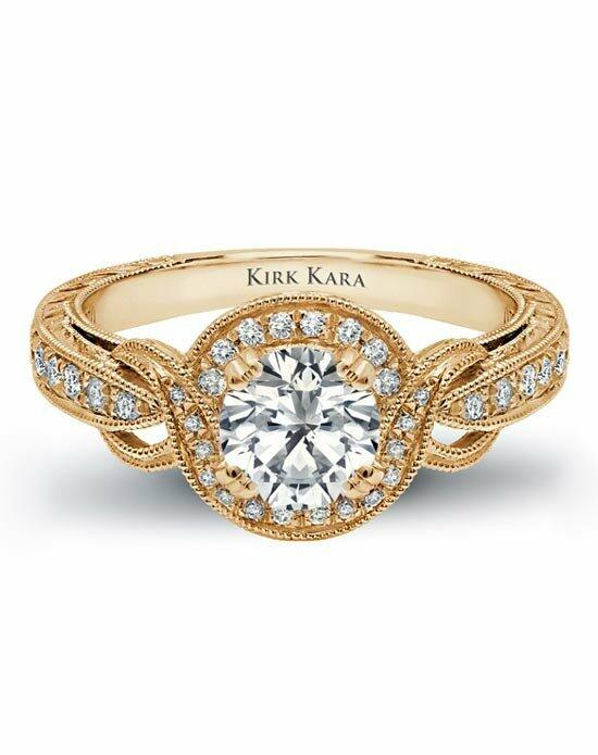 Kirk Kara Pirouetta Collection K150R65RY Engagement Ring photo