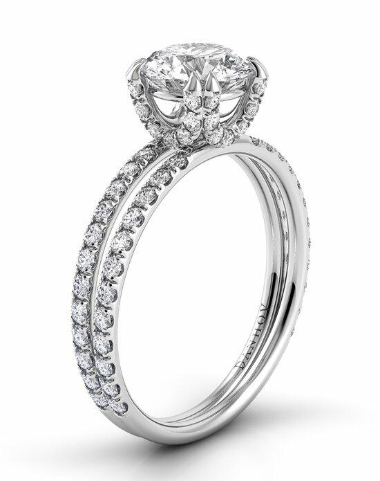 Danhov Eleganza Diamond Shank Engagement Ring photo