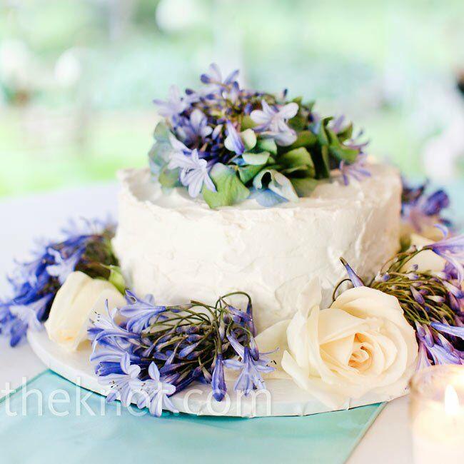 Wild Flowers For Wedding: Wildflower Wedding Cake