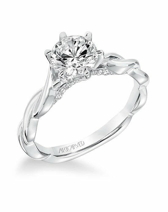 ArtCarved 31-V676ERW-E Engagement Ring photo