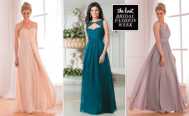 Jasmine Bridesmaid Dresses Fall 2015 Feature Bright Bold Colors