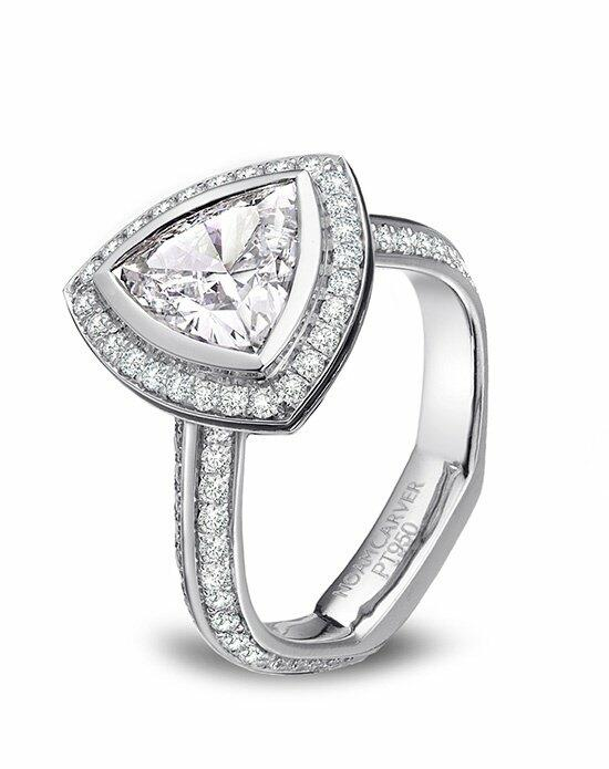 Platinum Engagement and Wedding Ring Must-Haves Noam Carver Platinum and Diamond Engagement Ring Engagement Ring photo