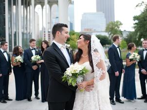 A Modern Jewish Wedding At Minneapolis Central Library In Minnesota