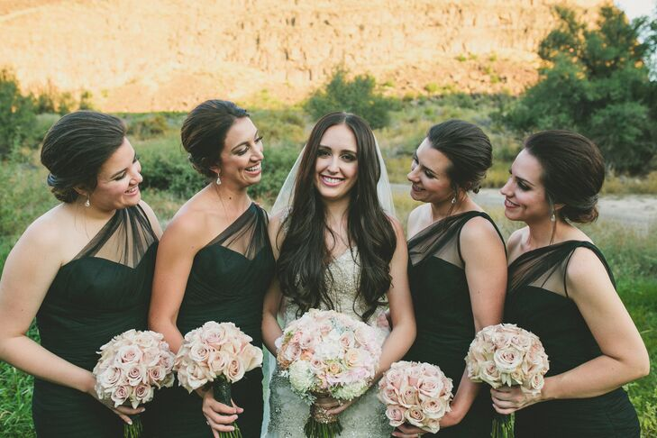 A Romantic Outdoor Wedding At Blue Lakes Country Club In