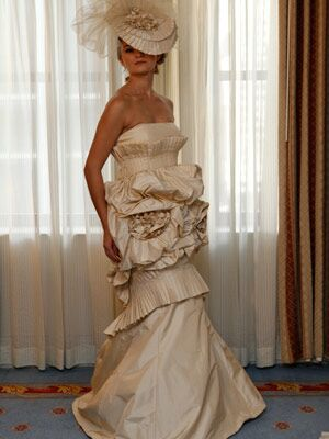 Outrageous Wedding Dresses From Bridal Fashion Week