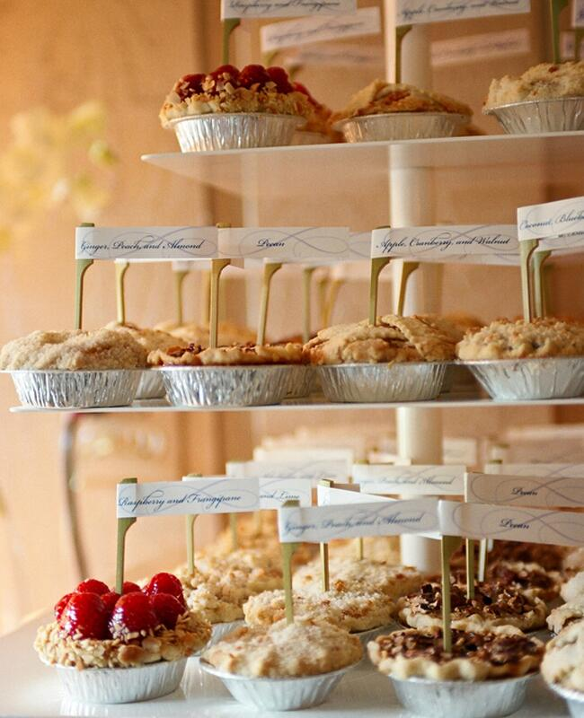 7 ways to serve pie at your wedding for pi day for What to serve at a bbq birthday party