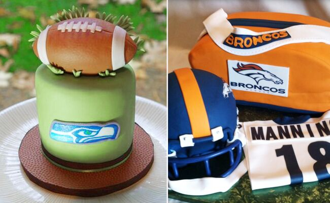 Super Bowl Groom's Cakes // Featured: The Knot Blog