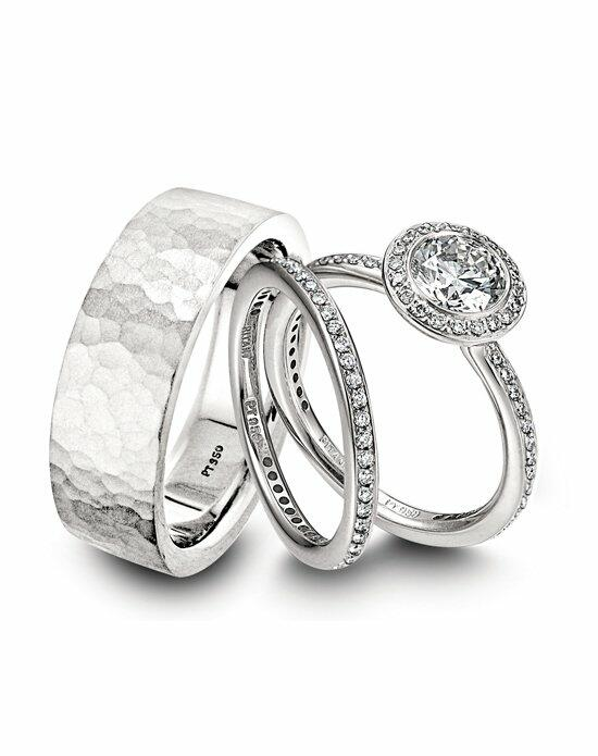 Platinum Must Haves Ritani Wedding Rings Set Engagement Ring photo