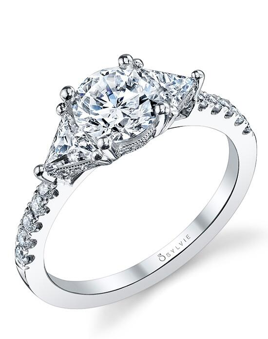 Sylvie Collection S1084 Engagement Ring photo