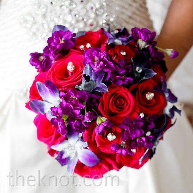Wedding Bouquets Roses And Orchids : Rose and orchid bridal bouquet