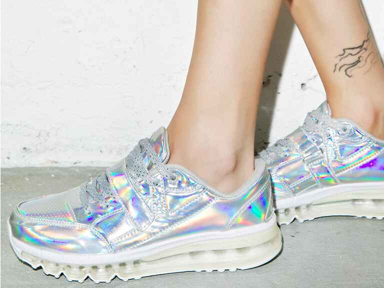 14 wedding day sneakers perfect for the modern bride