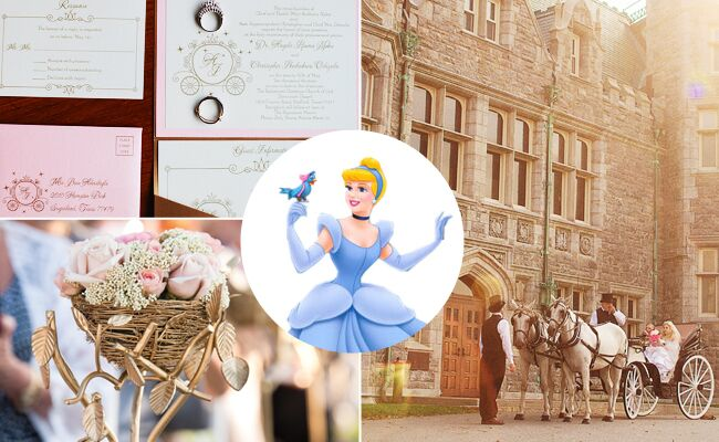 What Your Favorite Disney Princess Says About Your Wedding Style