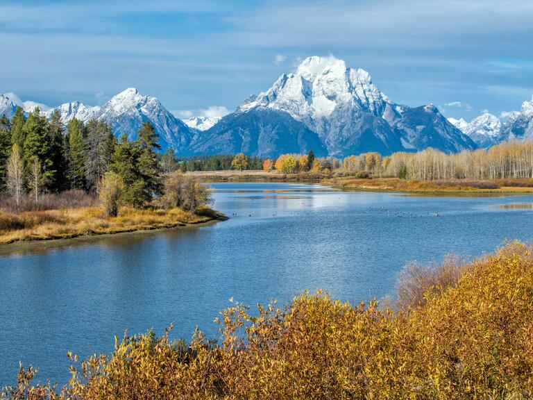 Jackson Hole, Wyoming's Grand Teton mountains